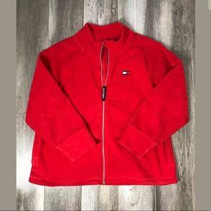 Tommy Hilfiger Mens Sz 1X Full Zip Fleece Jacket